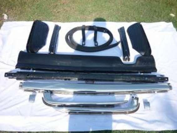 Mercedes benz w107/r107 stainless steel bumper