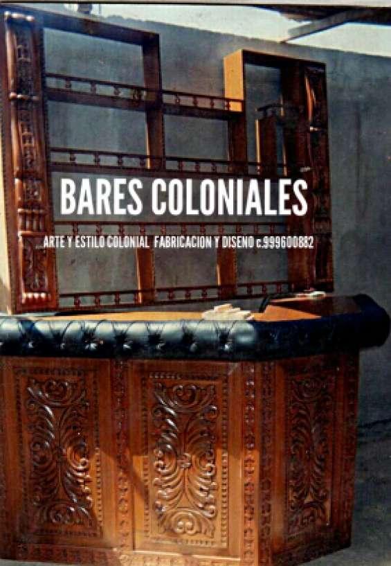 Fabricante diseñador de muebles tallados coloniales peruanos in ...