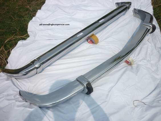 Bwm 1600/2002 stainless steel bumpers