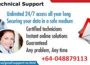 Gmail Tech Support +64-048879113