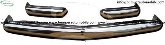 Mercedes pagode w113 years (1963 -1971) bumper stainless steel